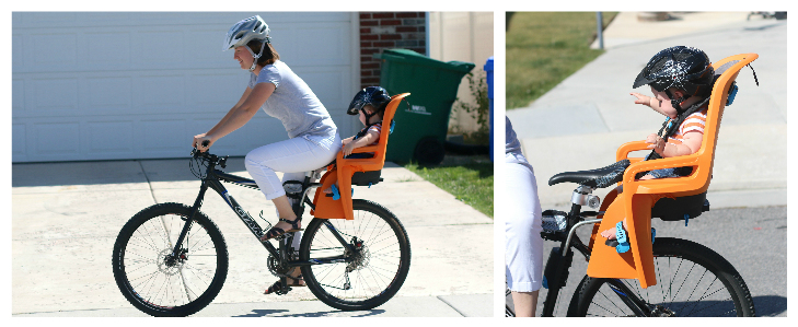 Read the Hamaz caress child bike seat review online